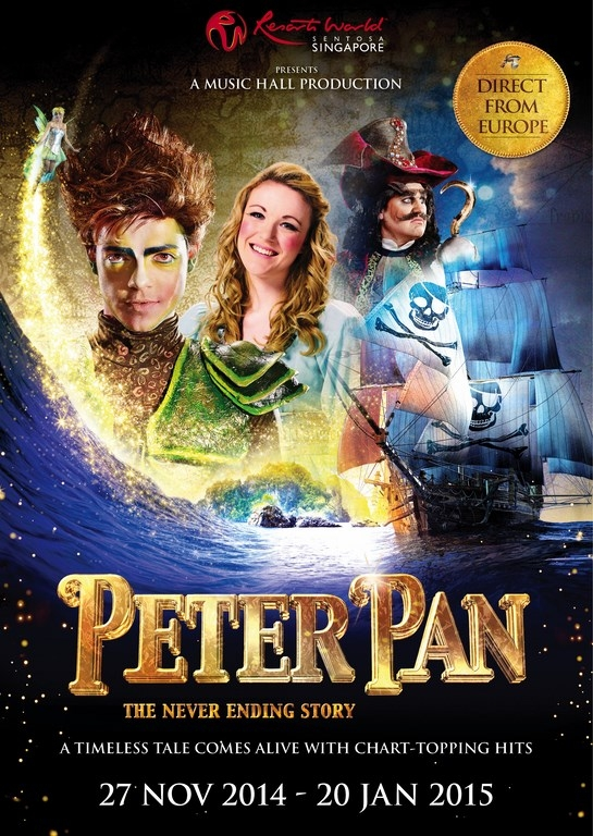 A Review of Peter Pan at RWS - The Never Ending Story