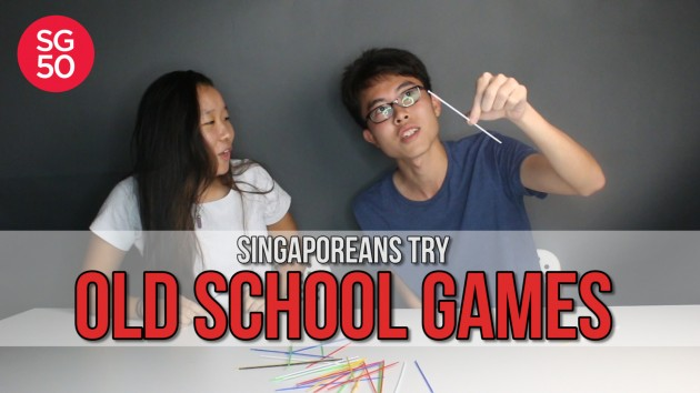 We Travelled Back In Time To Play Old-School Games. This Is What Happened - Singaporeans Try: Episode 9