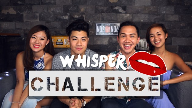 The Whisper Challenge With Benjamin Kheng! - Challenge Accepted: Episode 5