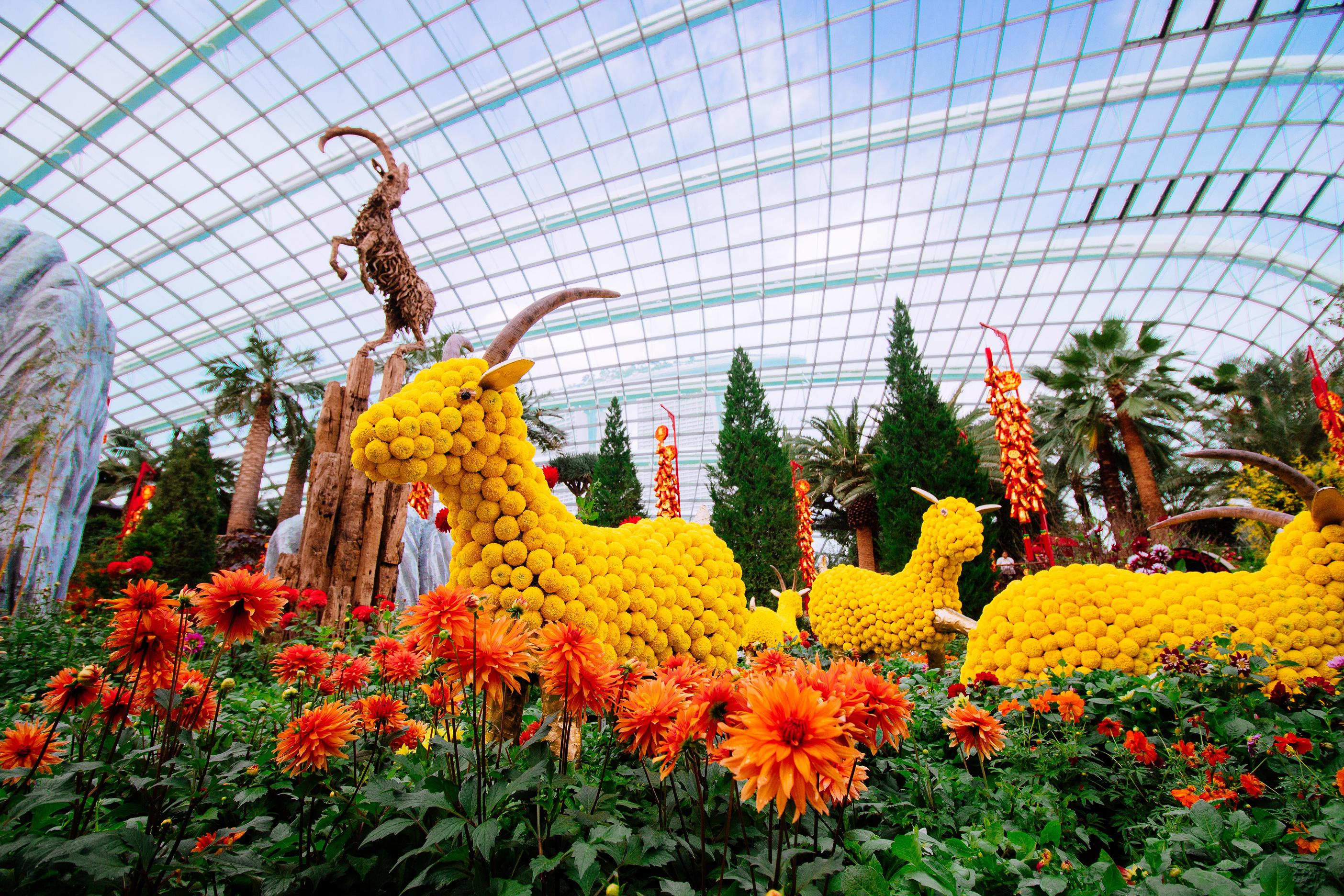 Garden By The Bay Singapore Gardens By The Bay Waterfall With Garden By The Bay Garden By The