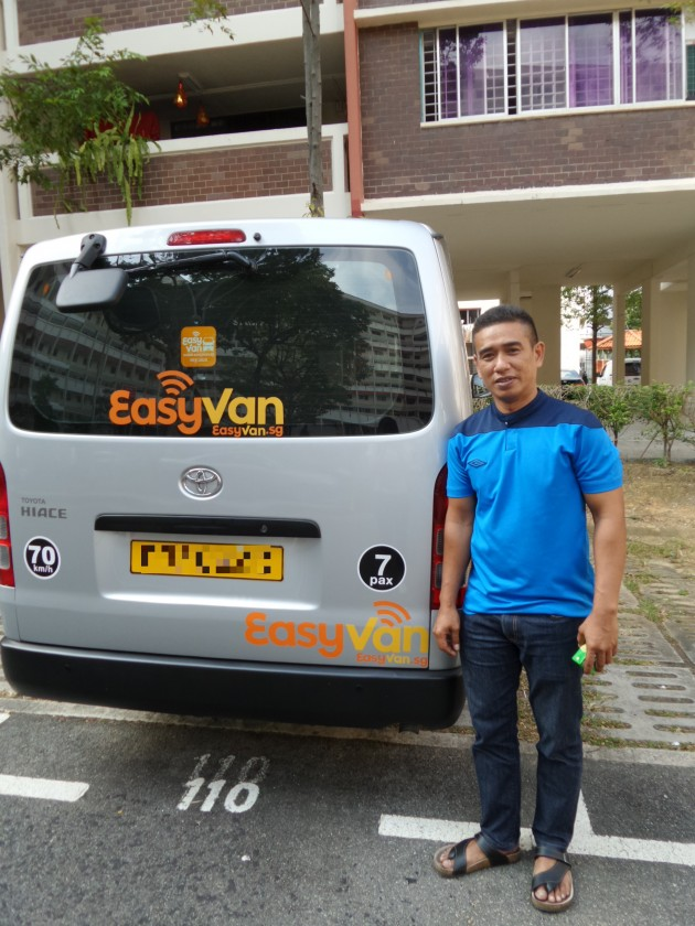 I Followed An EasyVan Driver For 8 Hours. Here's What I Learnt.