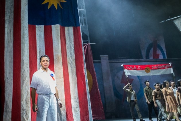 History Takes the Stage with Singapura: The Musical - A Review