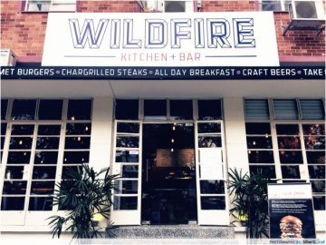 Wildfire Kitchen + Bar Only Serves Burgers Made With Premium Wagyu Beef