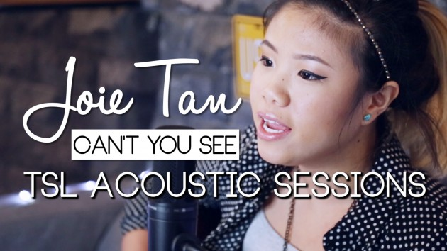 Joie Tan's Latest Original Makes Its YouTube Debut! - TSL Acoustic Sessions Episode 3