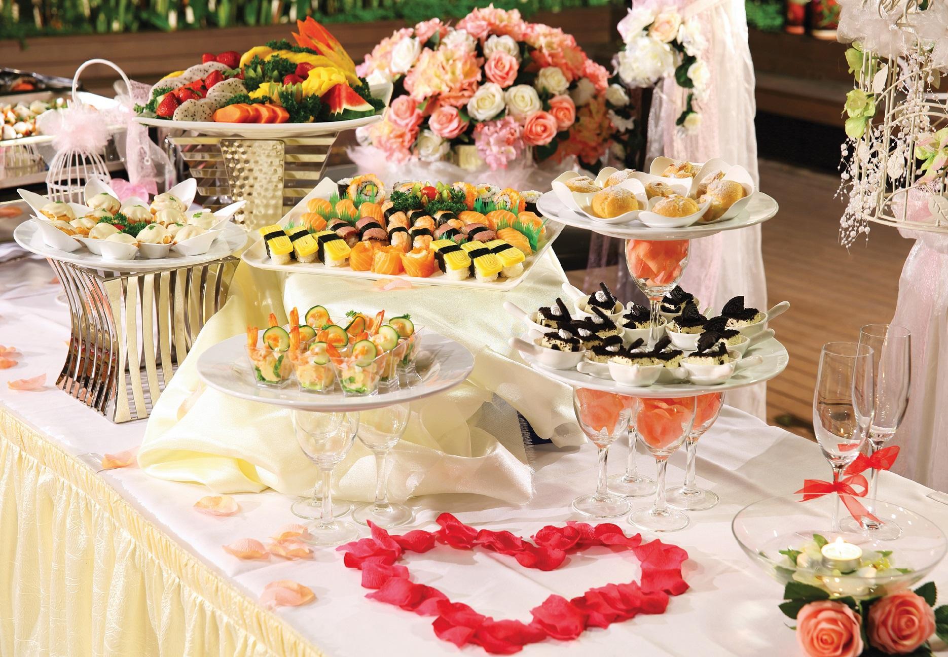 россии принято, свадебный стол фото еды окончания вуза работала