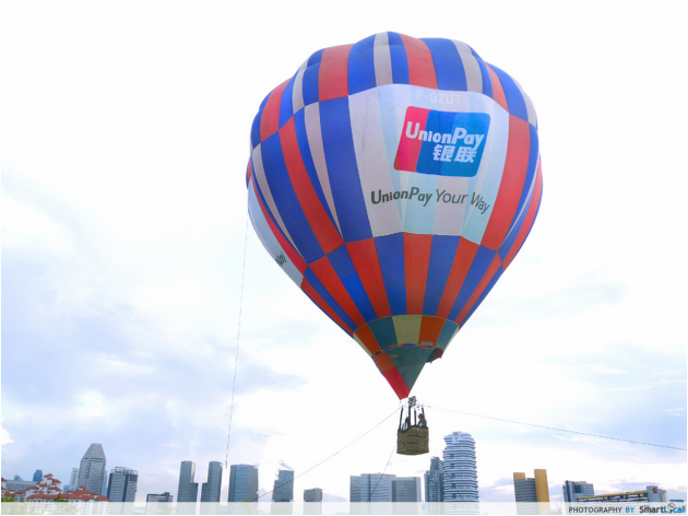 I Hopped On The Free Hot Air Balloon Ride at the SEA Games Carnival. Here's What I Found