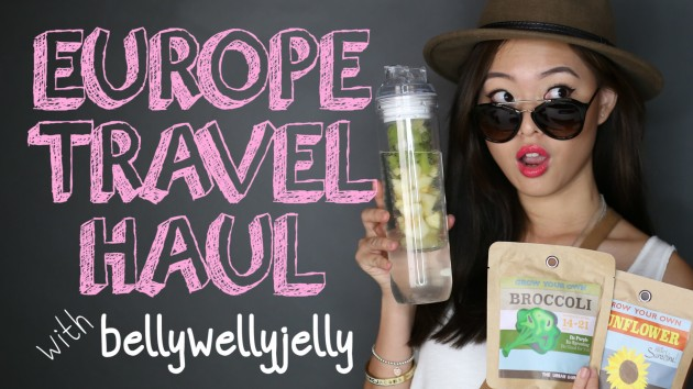 Europe Travel Haul With Bellywellyjelly - PrettySmart Episode 23