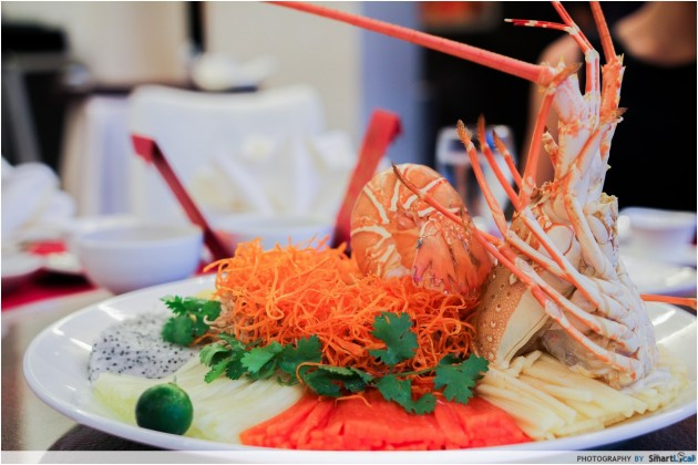 Park Hotel Clarke Quay: Celebrate This Chinese New Year with a Rainbow Lobster and Crabmeat Lo Hei