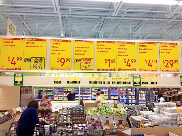 Cheapest prices at discount supermarkets