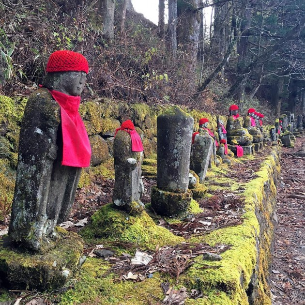 bake jizo statues that will spook you out