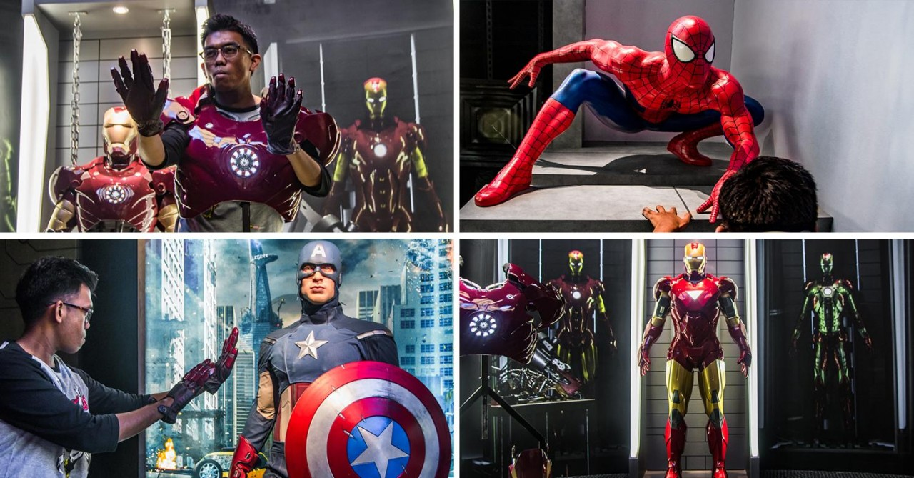 Madame Tussauds' Marvel 4D Experience Lets You Don Iron Man's Armour & Get Optical Illusion Shots With Spidey