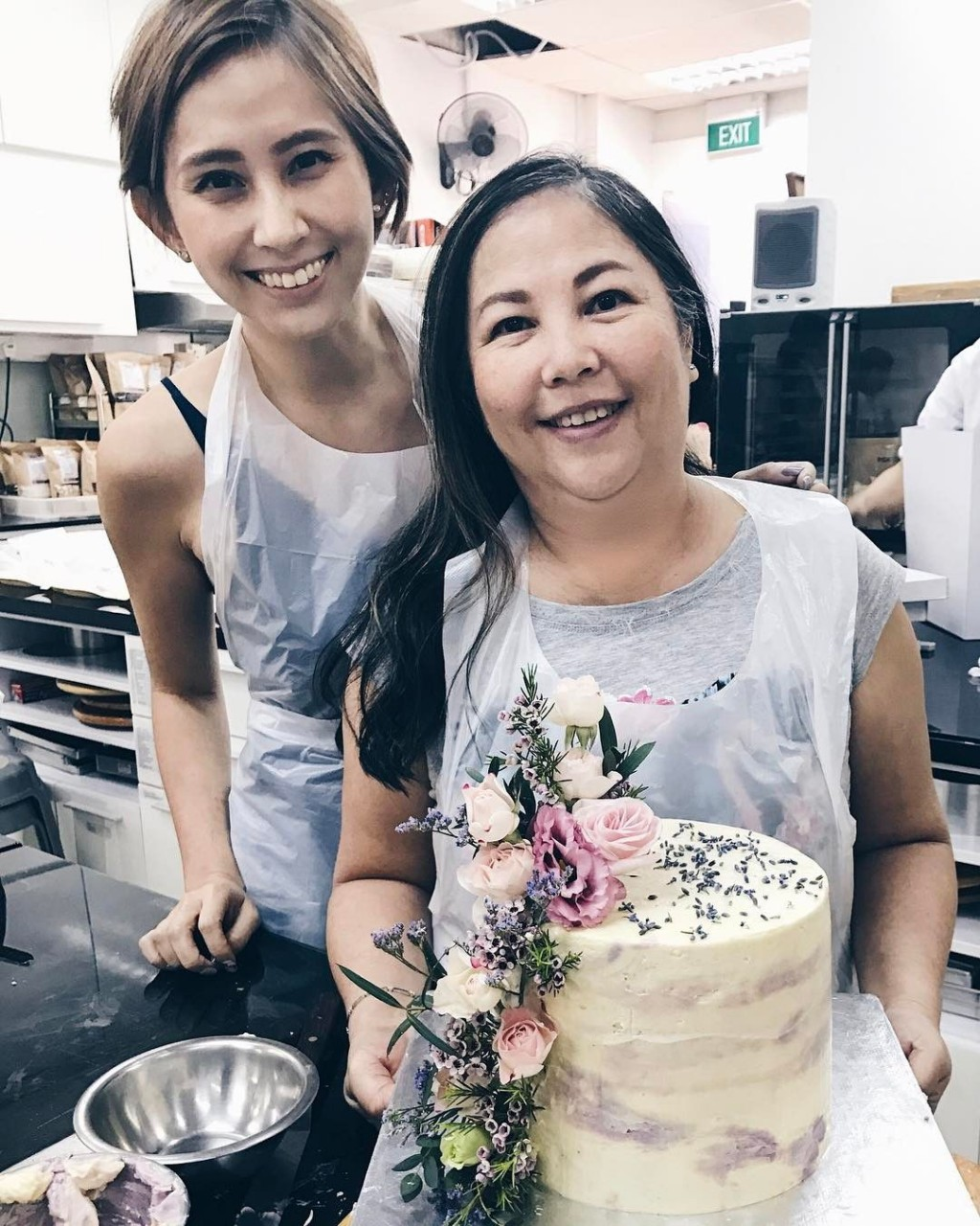 floral cake creative culinaire
