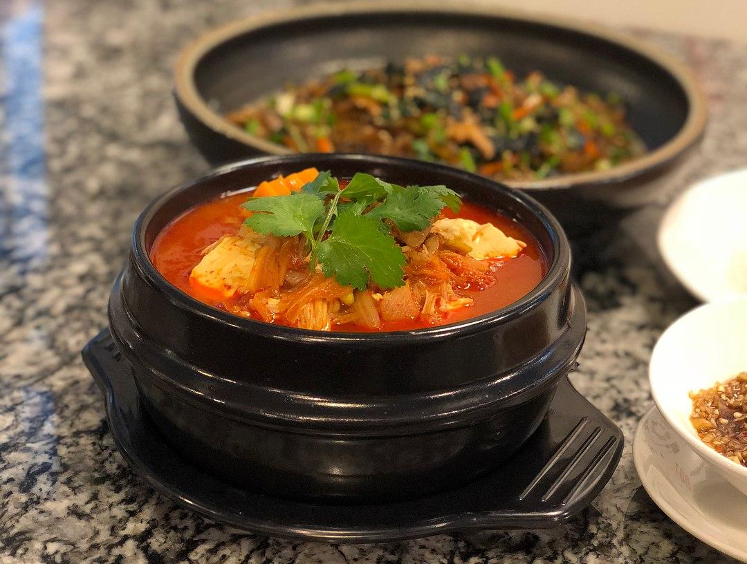 kimchi stew korean cuisine course palate sensations