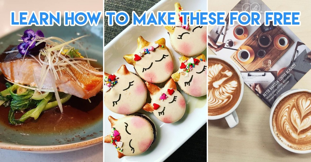 10 SkillsFuture-Claimable Culinary Classes To Turn You Into Husband/Wife Material