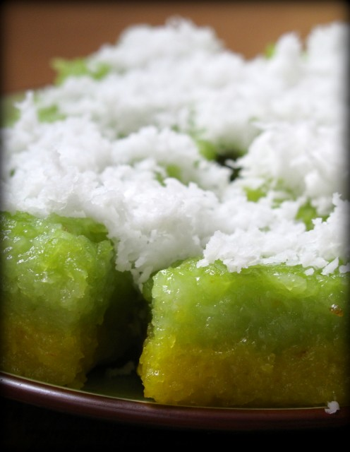 Tapioca Cake Recipe - steamed version