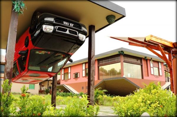 Rumah Terbalik - Asia 1st Upside Down House in Kota Kinabalu, Sabah