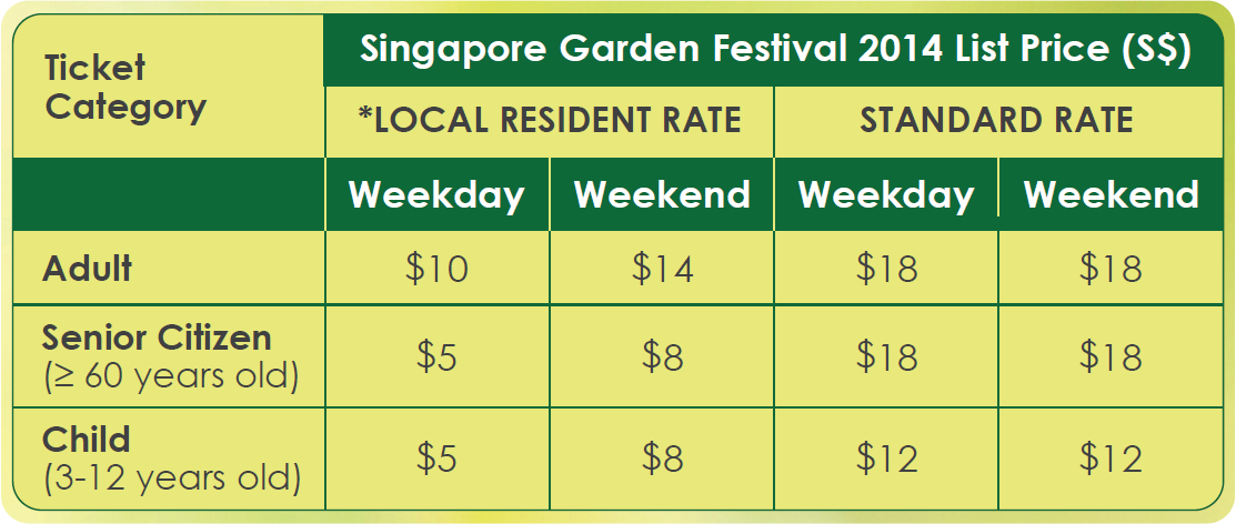 garden by the bay entrance fee singapore the singapore garden festival is back and for the - Garden By The Bay Entrance Fee