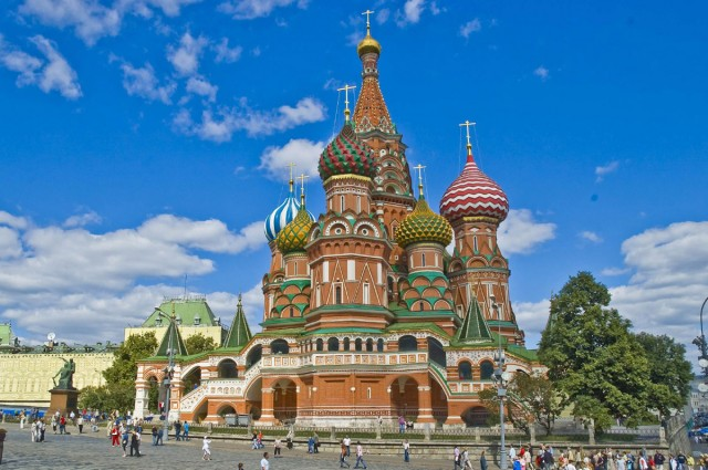 Top 5 Moscow Attractions