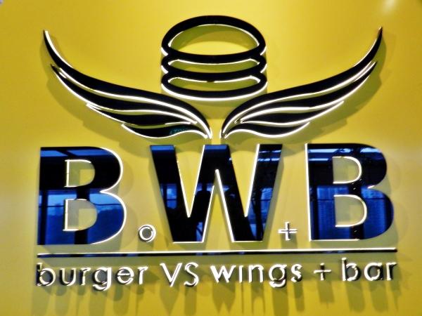 Burger VS Wings + Bar = Epic food fight!