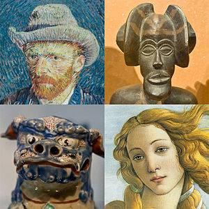 Musings at an Art Gallery
