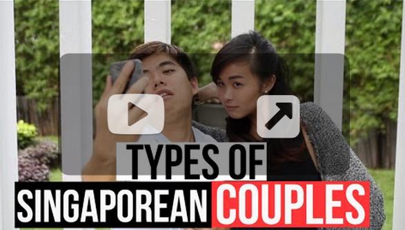 Types Of Singaporean Couples