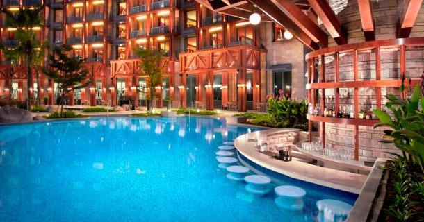 Rock Pool Bar Hard Hotel