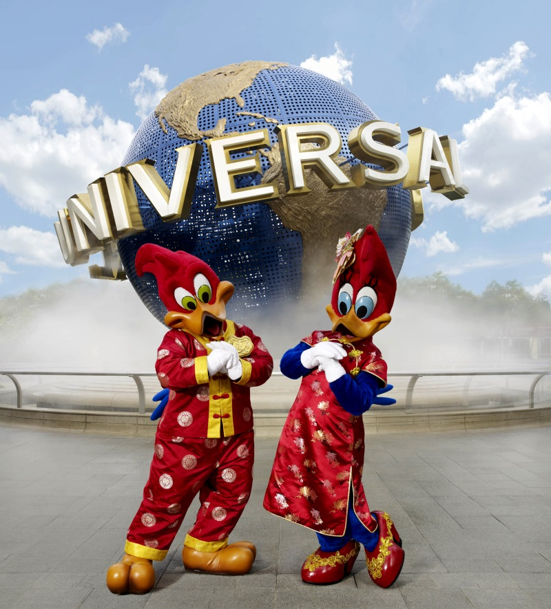 Universal Studios Singapore 2014 Review And CNY Specials