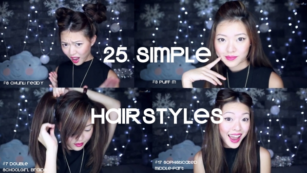25 Simple Hairstyles For Christmas Under 5 Minutes