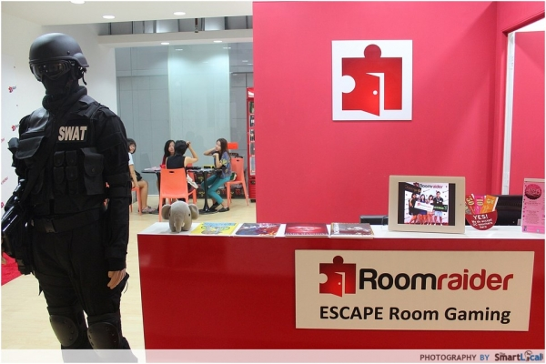 Live Action Gaming comes to Singapore! - Roomraider Review