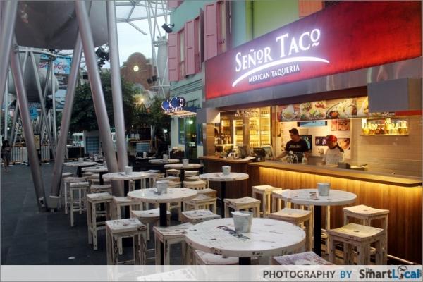 Señor Taco Opens in Clarke Quay