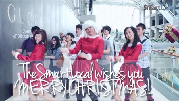 Merry Christmas 2014 From TheSmartLocal.com!