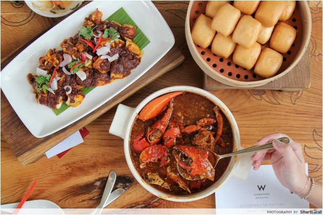 W Singapore Launches Communal Dining Menu With Local Favourites