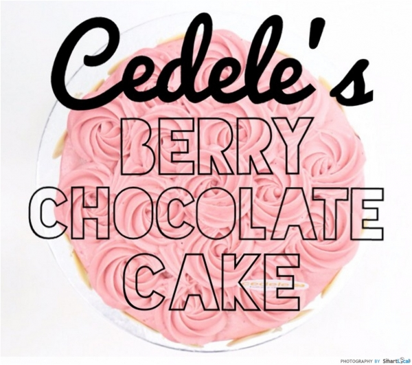 Review of Cedele's Mother's Day Berry Chocolate Cake
