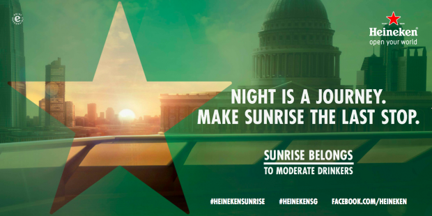 "Heineken - ""The Sunrise"" makes drinking in moderation look cool"