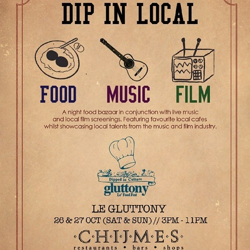 Le Gluttony at Chijmes this weekend!