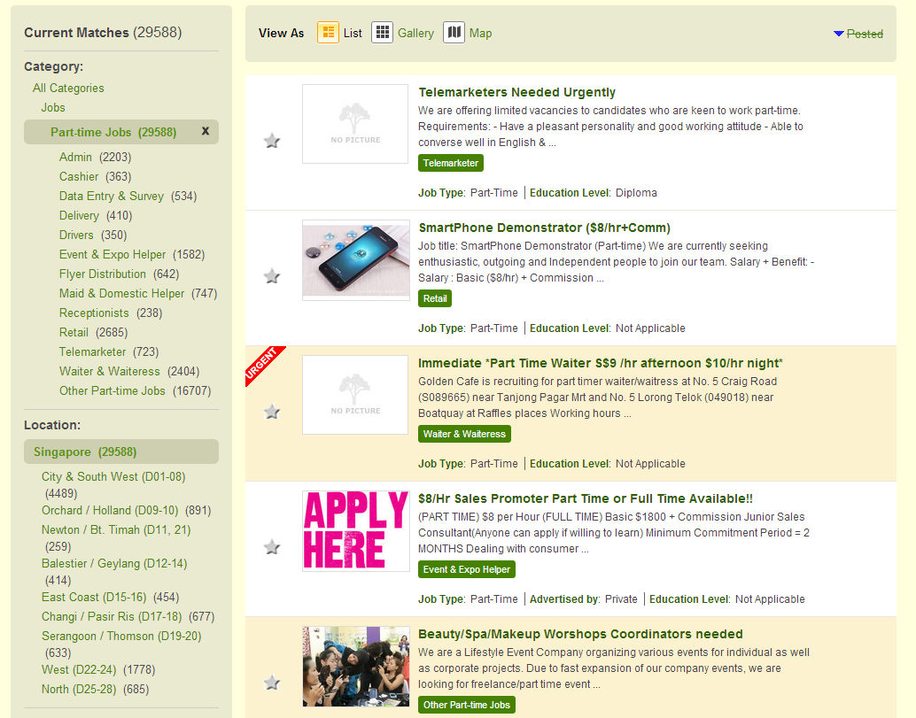 case study on the best job sites in singapore jobsdb vs gumtree job review