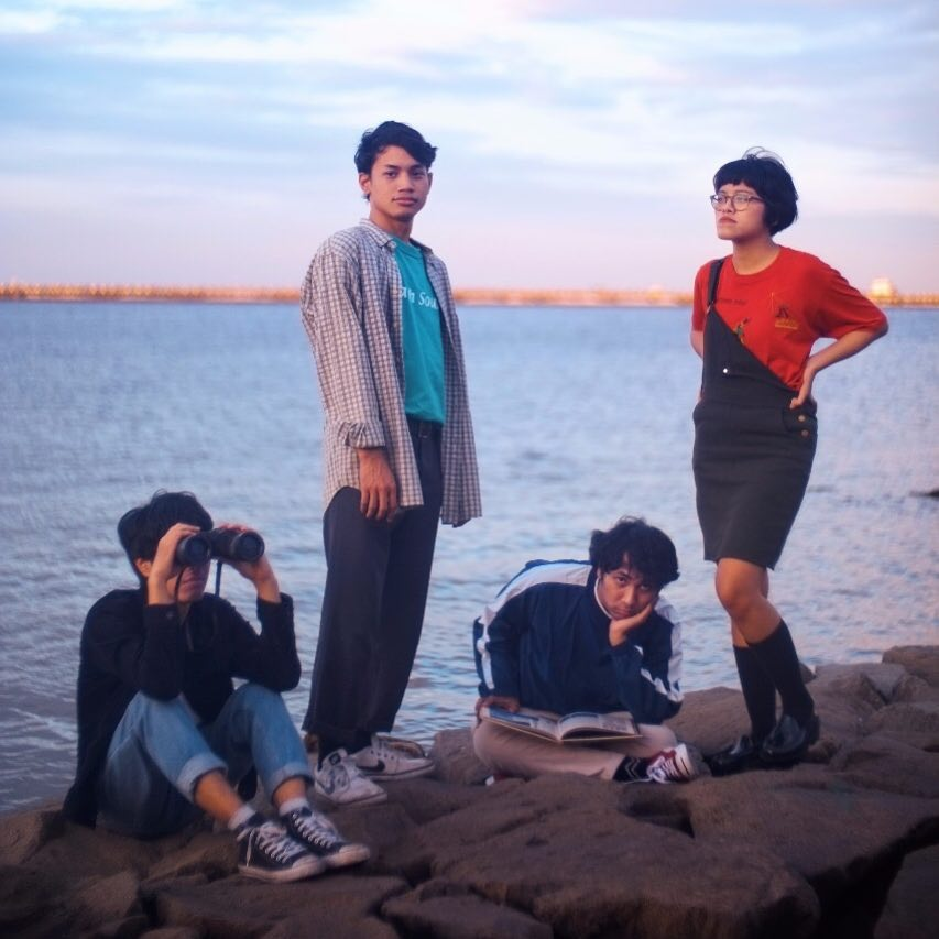 bedchamber indie band from indonesia