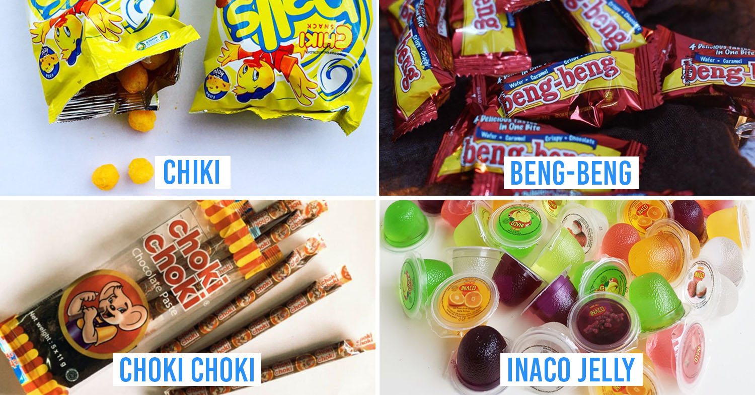 Cover image - Indonesian childhood snacks