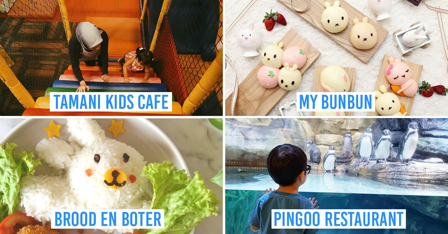 Cover image - family friendly restaurants and cafes jakarta