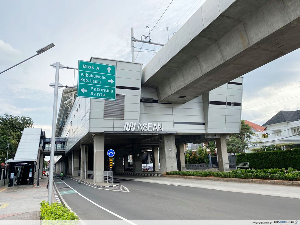 ASEAN MRT Station on 2nd April, 2020