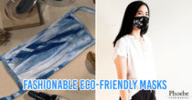 Indonesian Fashion Brands Release Trendy Reusable Masks Made From Tie-Dye, Satin, & Raw Cotton
