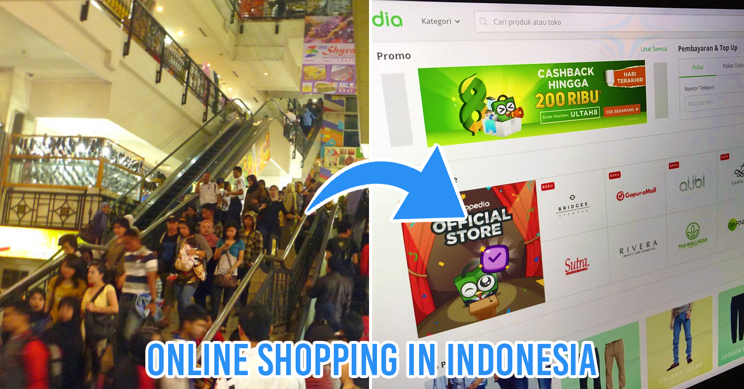 Indonesian online shopping websites