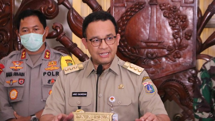 Jakarta Governor Anies Baswedan pushes for more days of PSBB