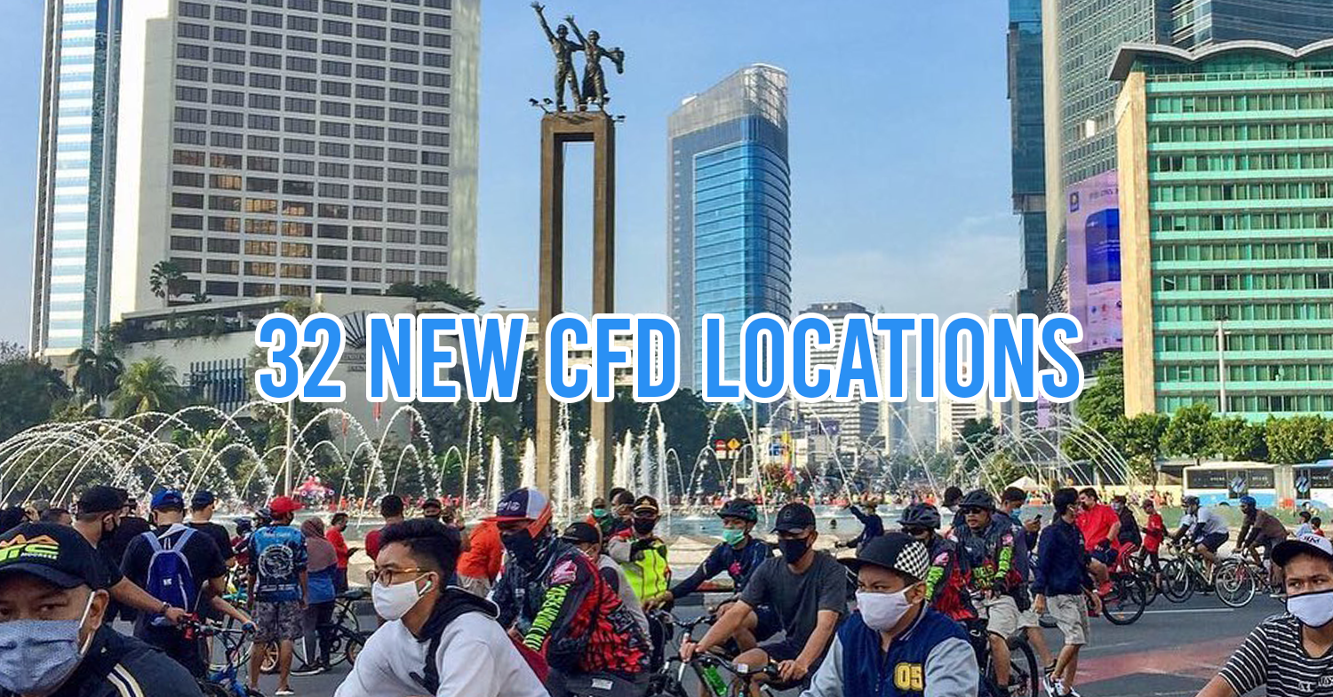 32 new locations for Jakarta CFD
