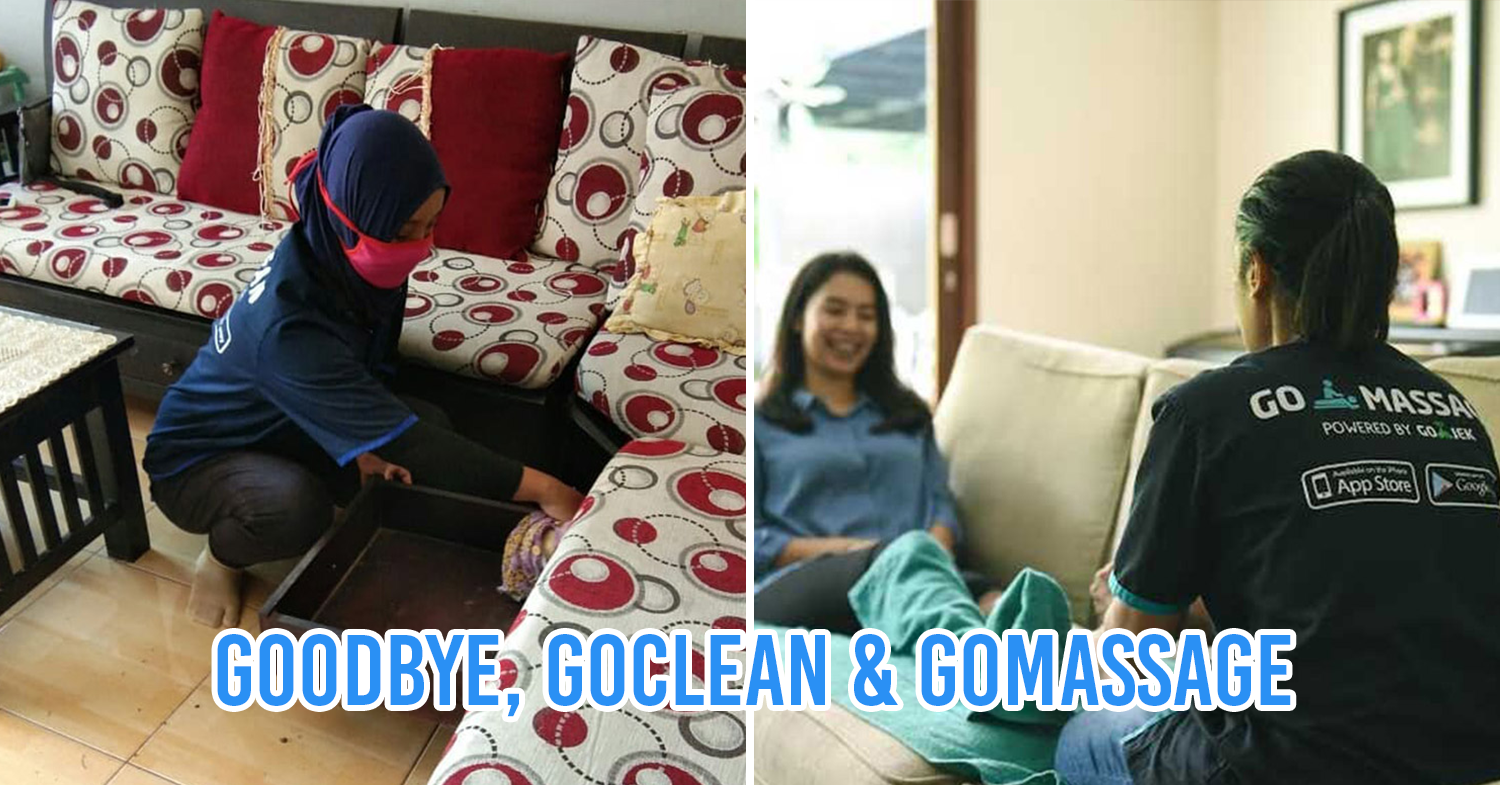 Goclean and gomassage services to end on 27 july 2020