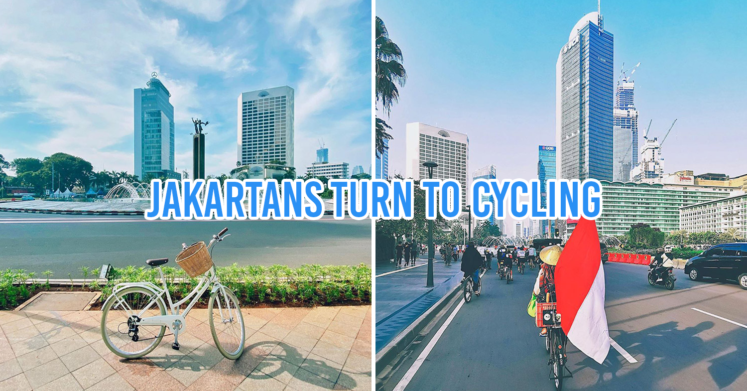 Jakartans turn to cycling