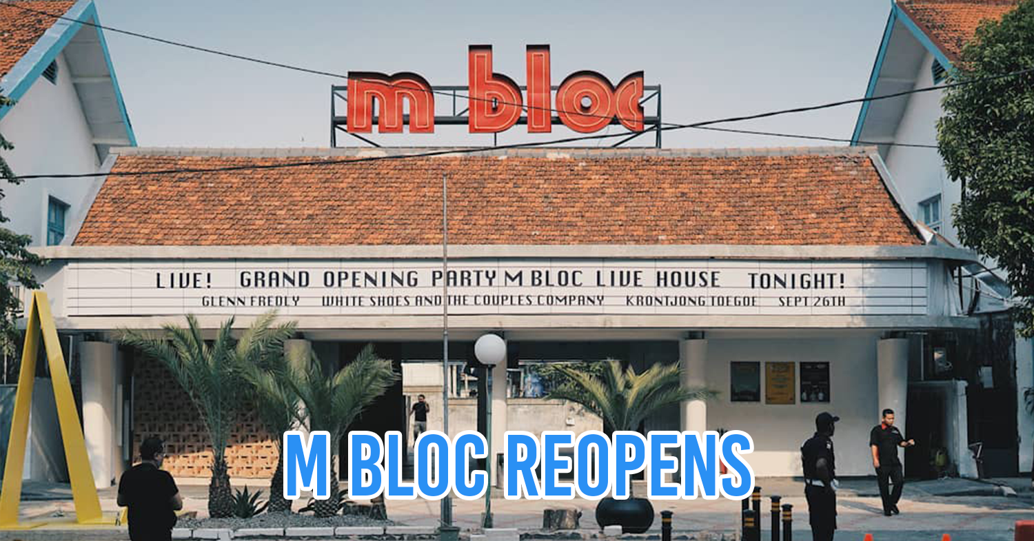 M Bloc in South Jakarta Reopens