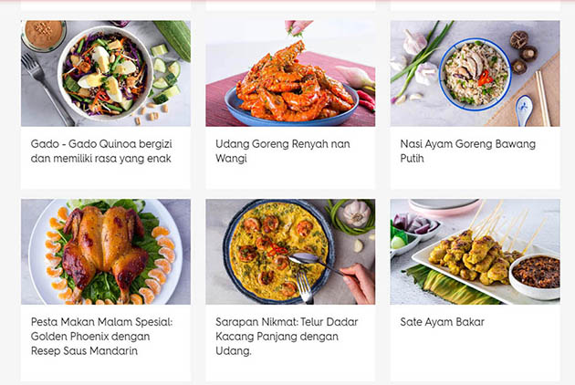 asian food network recipes in bahasa indonesia
