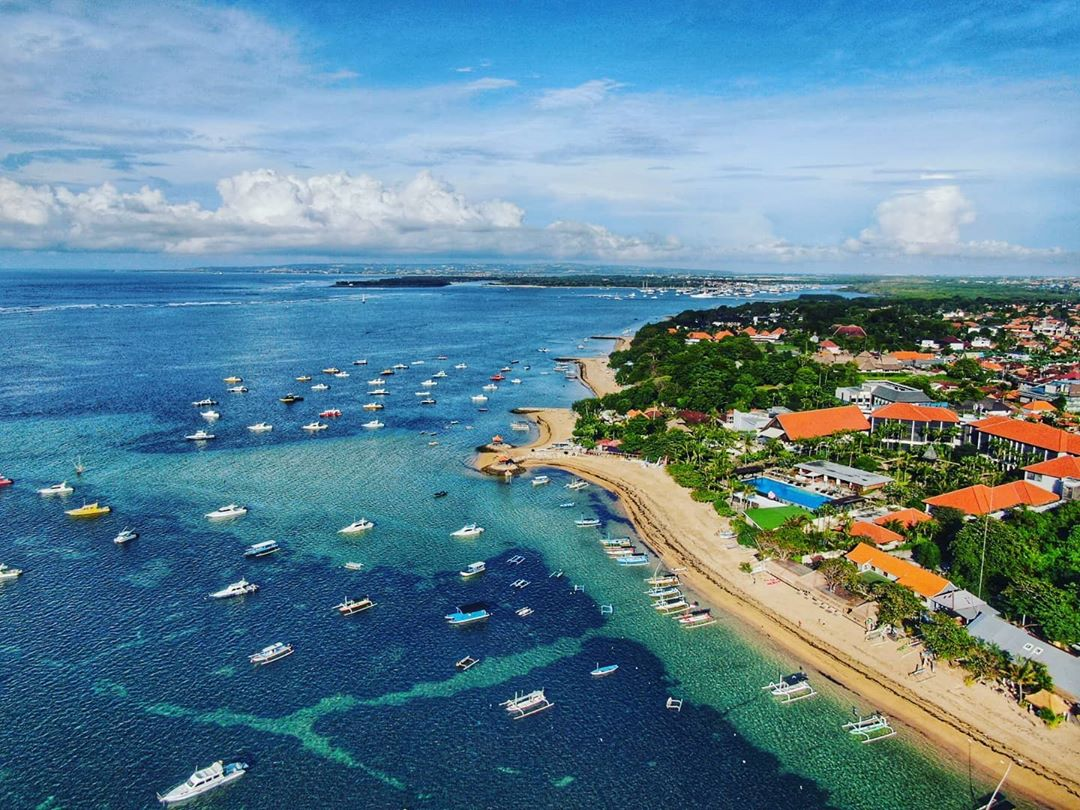 Bali beaches reopen - Sanur