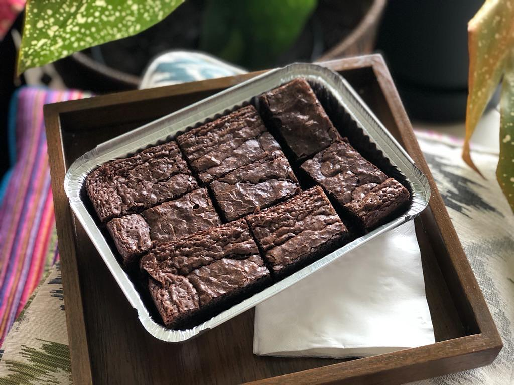 Dessert home businesses Jakarta - Atorie Bakes brownies